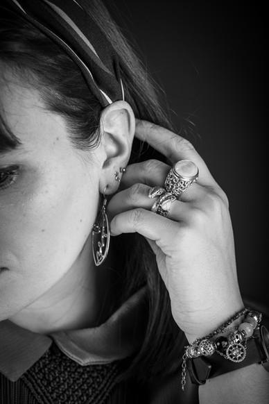 Portrait / Bijoux / Studio