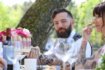 Couple tatoué / Mariage simple / Ensemble