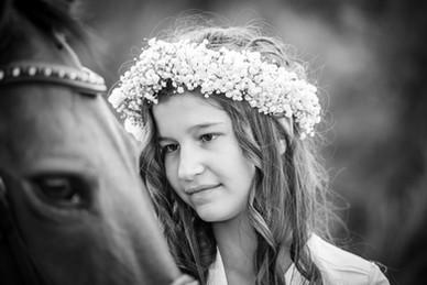 Communion - cheval - centre equestre