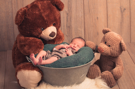 Ourson / Newborn / photographe naissance