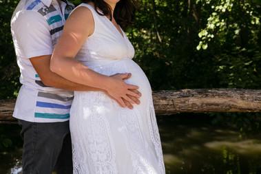Ventre rond / futur parents / Photographe