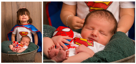 Superman / photographe / Sarreguemines