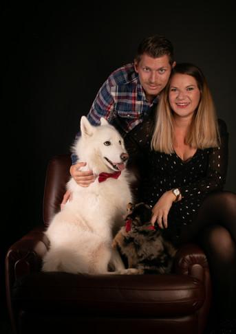 Famille - dog - photo