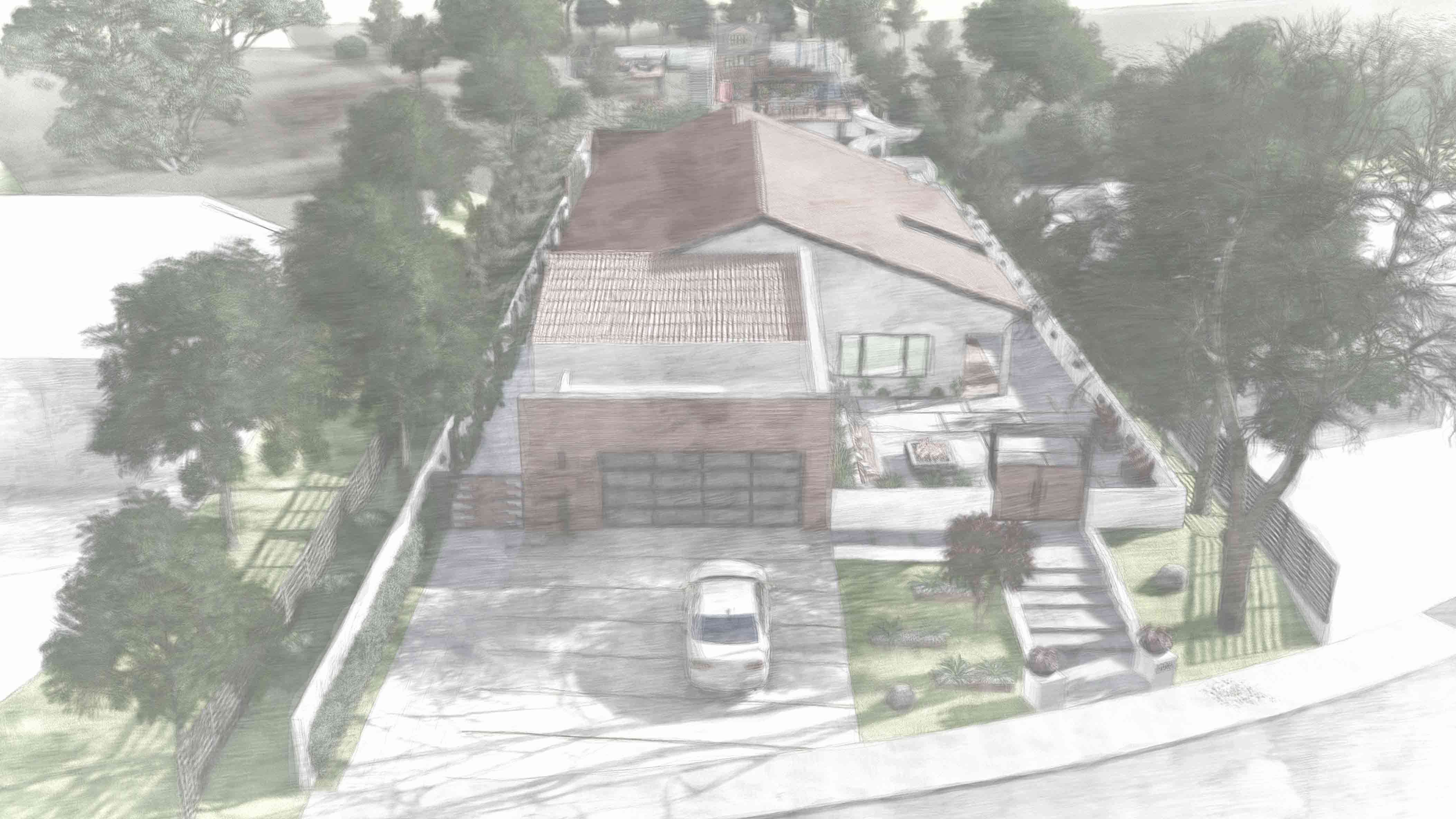 Residence_Aerial view