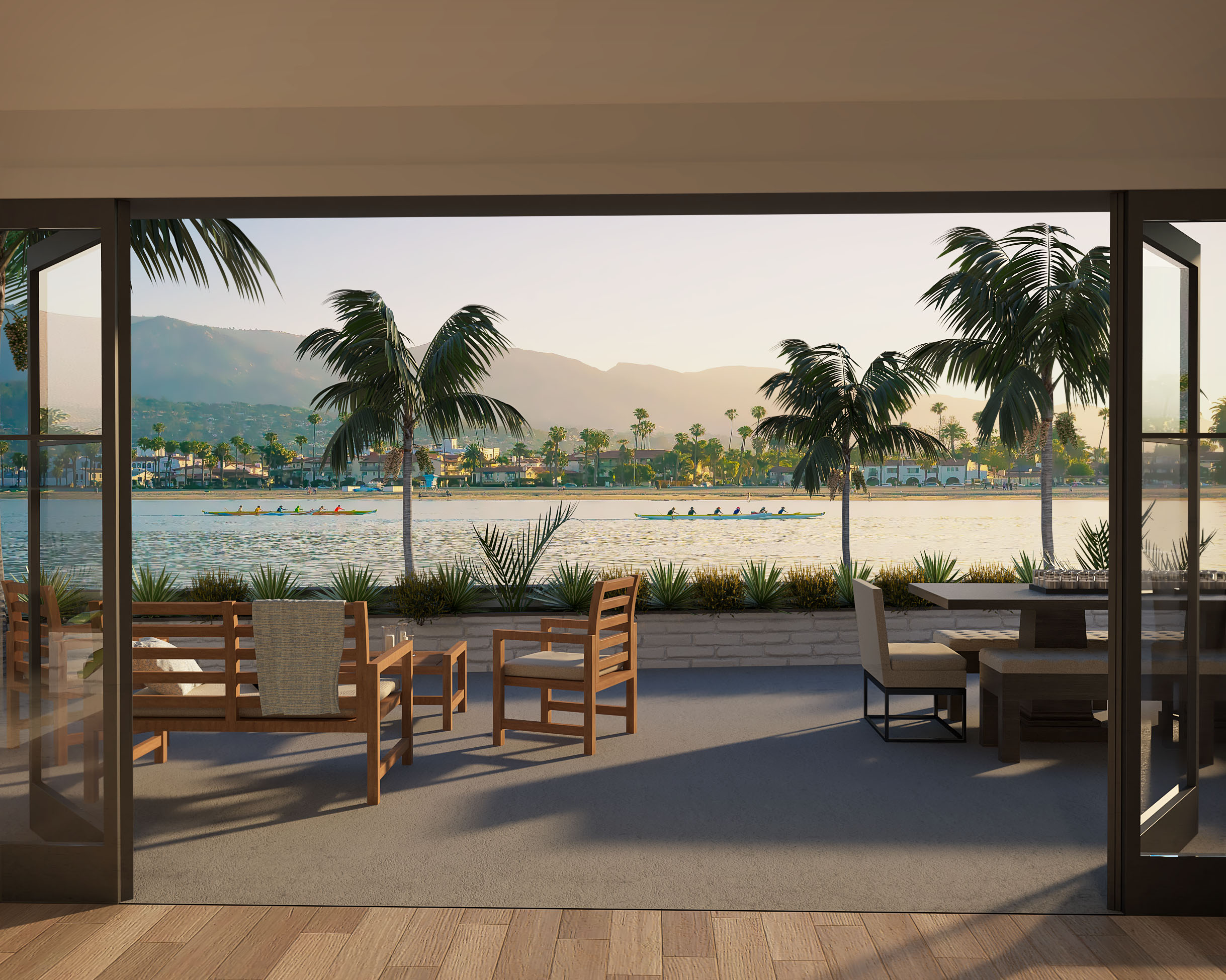 1_Coastal house_Patio view