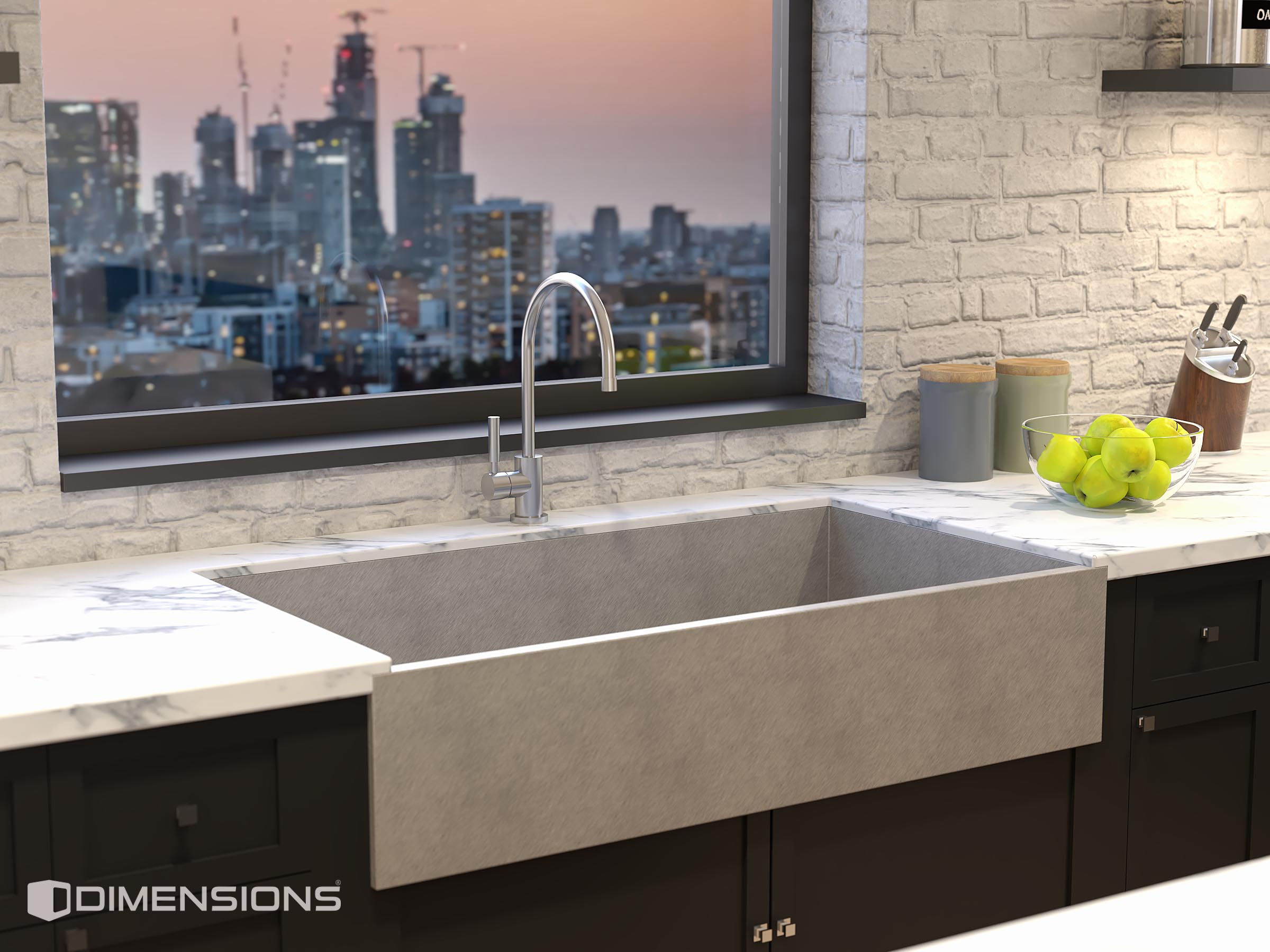 Close up_Sink Rendering