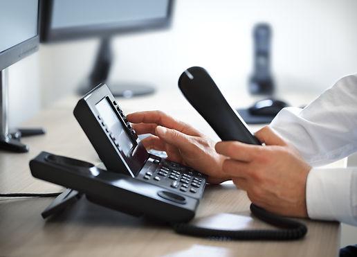 Dialing telephone keypad concept for com