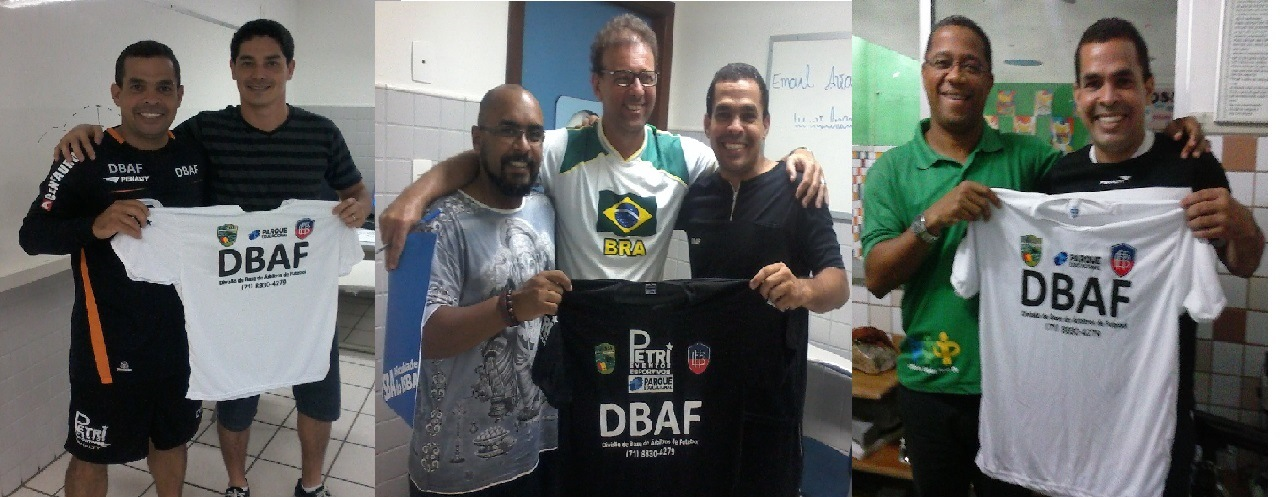 PROFESSORES DA FSBA ELOGIAM A DBAF