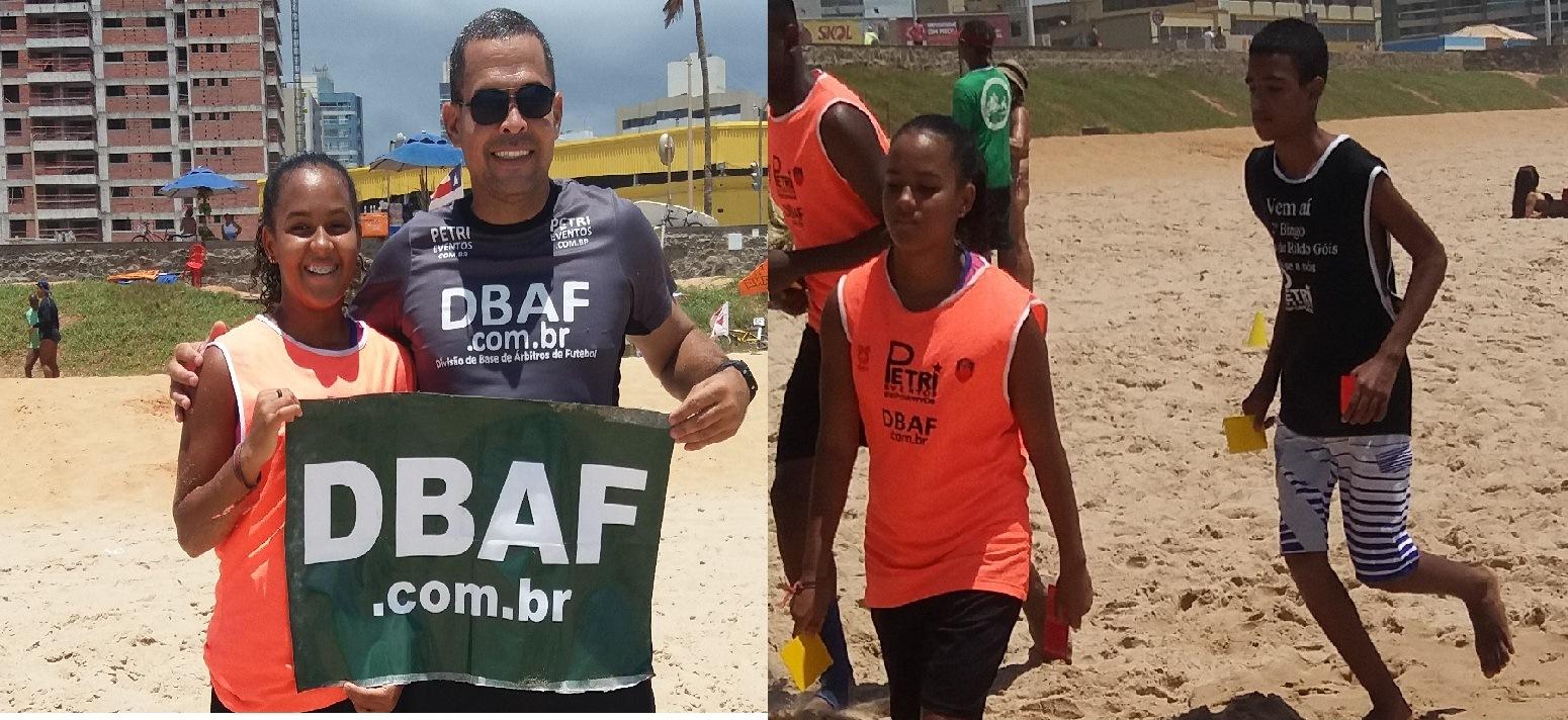 PROMESSA DO FUTEBOL TREINA NA DBAF