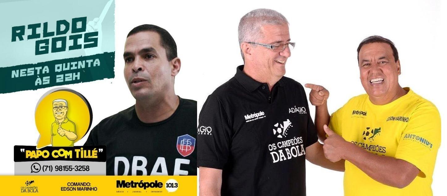 RG AO VIVO NO PAPO COM TILLÉ 14/04.