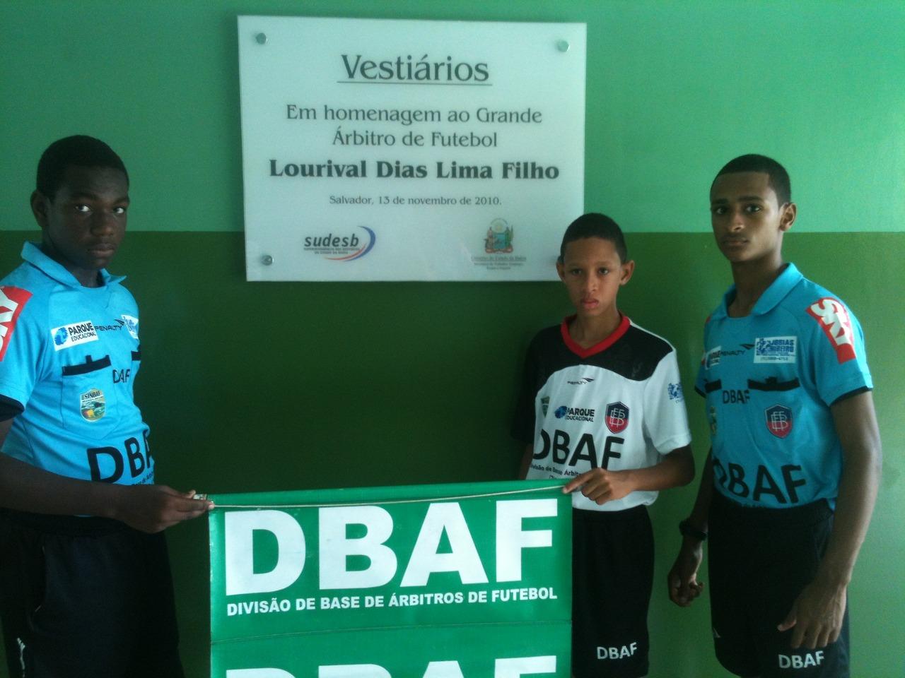 PLACA DE LOURIVAL DIAS COM A DBAF