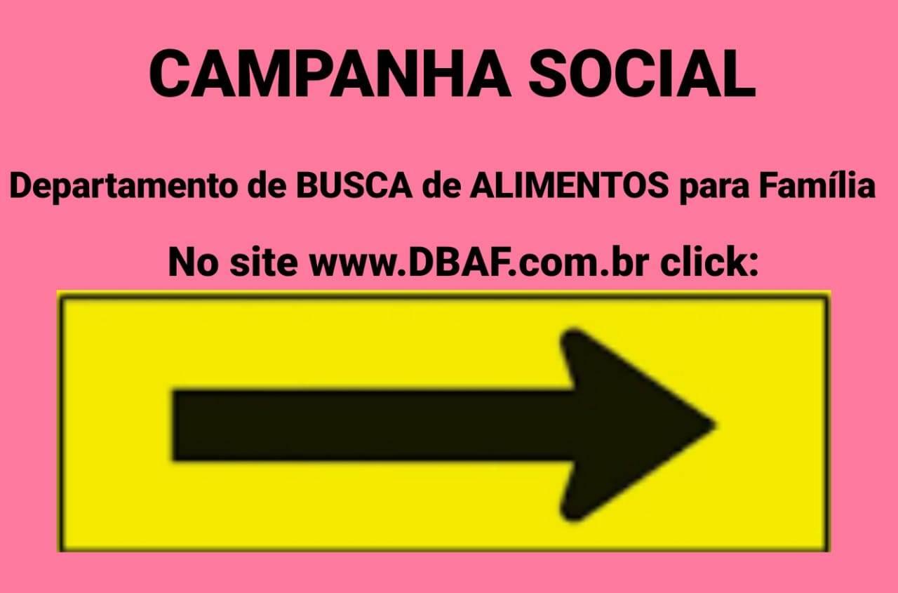CAMPANHA SOCIAL CONTINUA FIRME