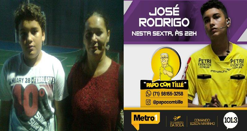 ENTREVISTA COM JOSÉ RODRIGO 03/03/17