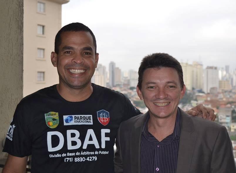 DBAF PARABENIZA AMIGO DE SÃO PAULO