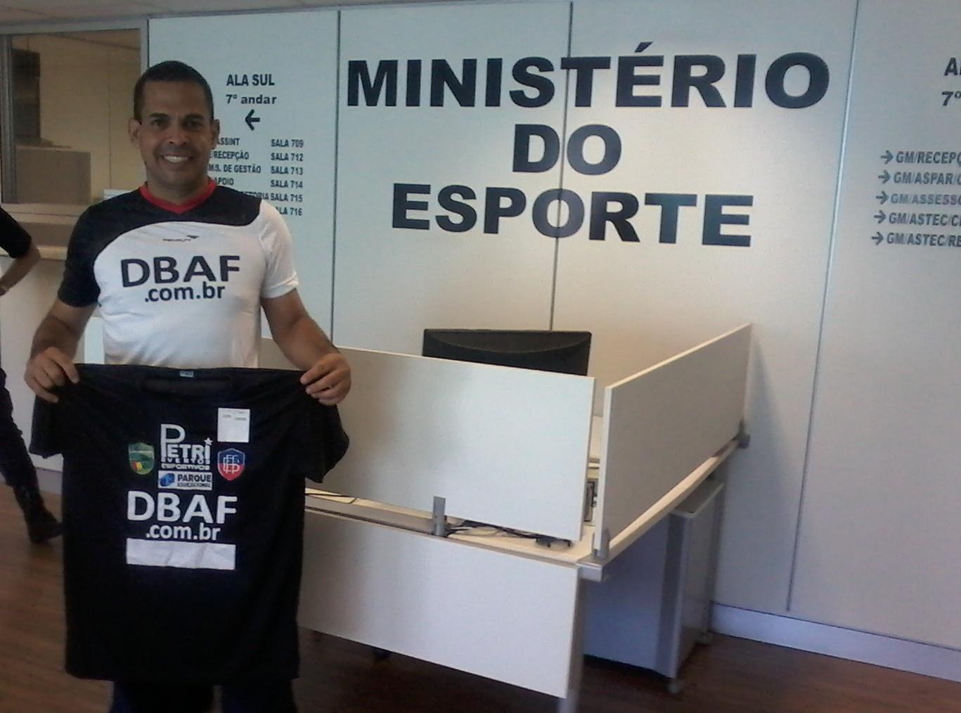 DBAF VISITA MINISTÉRIO DO ESPORTE