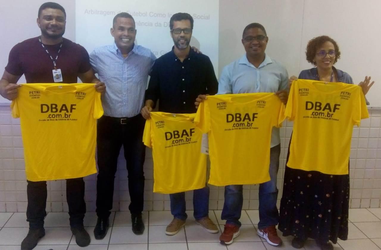 FSBA E PROFESSORES APOIAM A DBAF