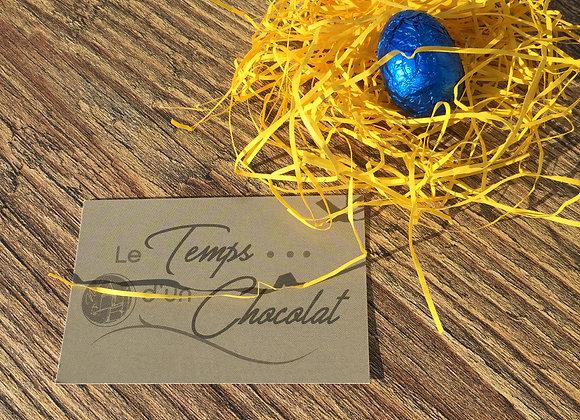 Petit oeuf triplo ( 3 chocolats)