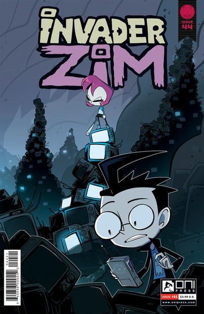 Invader ZIM #44 Cover
