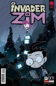 Invader ZIM #44 Cover