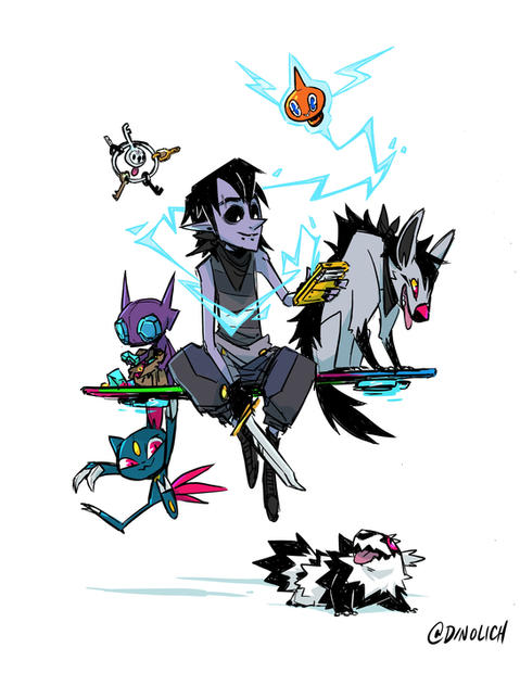 Moss's Pokemon Team
