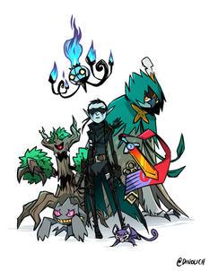 Roc's Pokemon Team