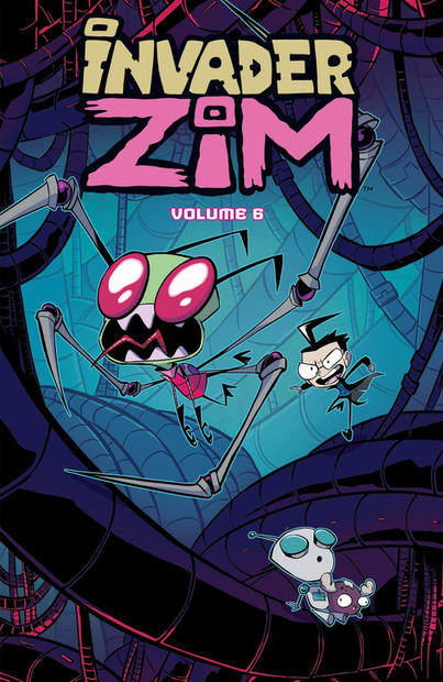 Invader ZIM vol6 Cover