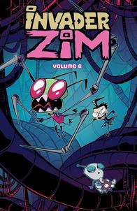 Invader ZIM vol6 Cover