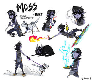 Moss Sketch Page