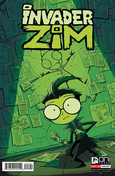 Invader ZIM #8 Cover