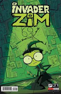 Invader ZIM #8 Cover