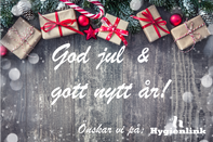 Avvikande öppettider under jul & nyår