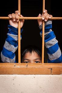 Kinderen in de gevangenis