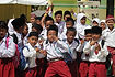 Schoolkinderen Indonesie
