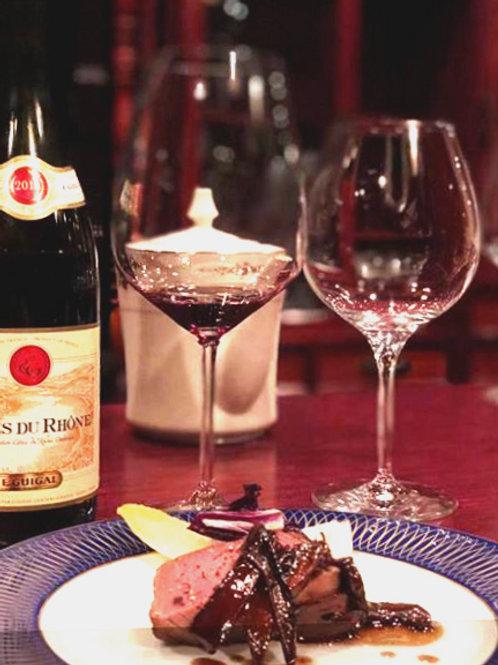 今月のおすすめ今月ワインと食事