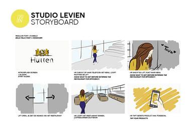 Storyboard Hutten Catering App 01