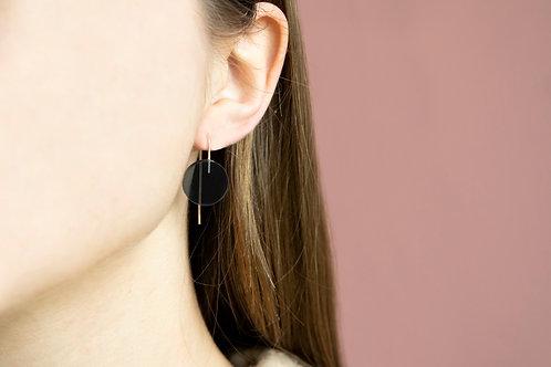 Circle Wire Earrings Medium
