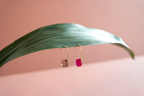 Circle Wire Earrings Small