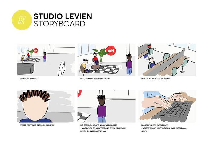 Storyboard JAM Werkt 01