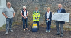 £500 donation from 657 to Aberfeldy First Responders