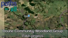 Doune Community Woodland Group £300 From Lodge St.James No.171 Doune