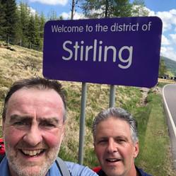 Entering Stirlingshire Day 2