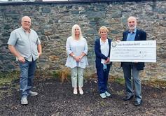 £500 Donation to Dementia Friendly Aberfeldy
