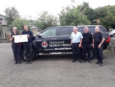 Trossachs Search & Rescue 1036 Donation of £500