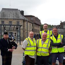 Section 1 team in MKM Vests
