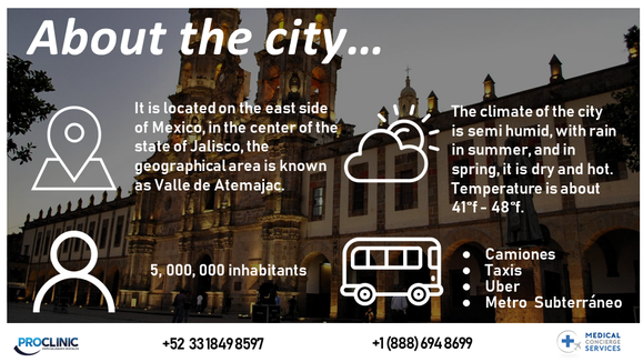 ABOUT THE CITY OF GUADALAJARA