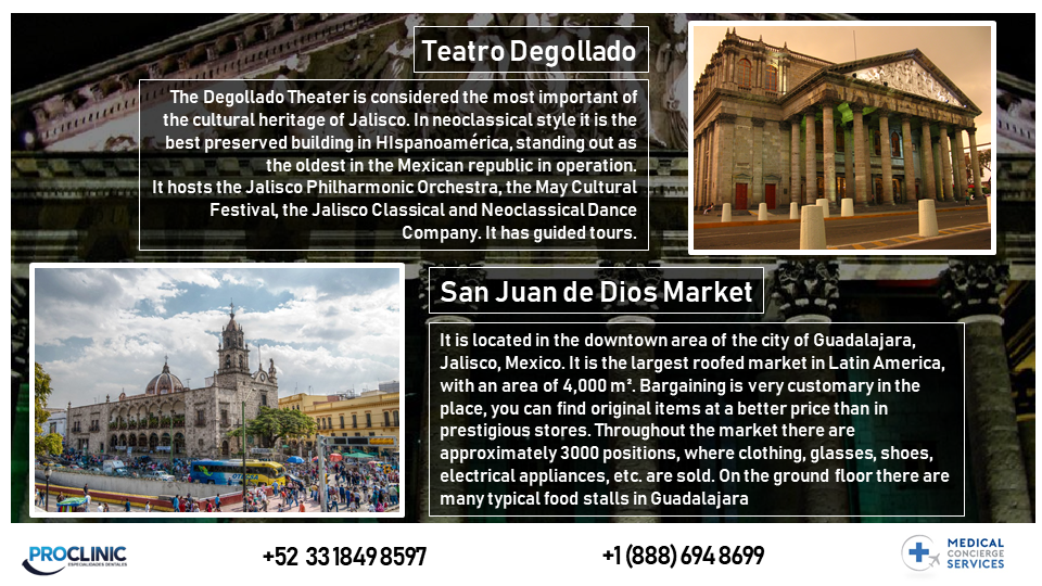 Areas in Down Town Guadalajara