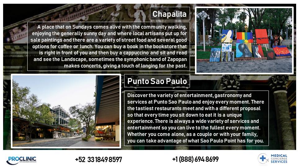 GUADLAJARA CITY AREAS
