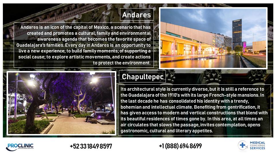 GUADALAJARA CITY AREAS