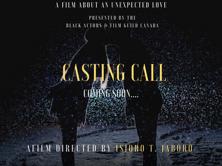 CASTING CALL FOR:  LOVE IN TRANSITION - (Working Title)