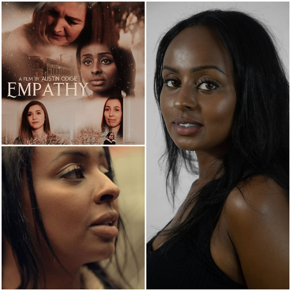 Idylia Hachi plays lead role (Fari) in the movie Empathy Directed by Austin Odigie